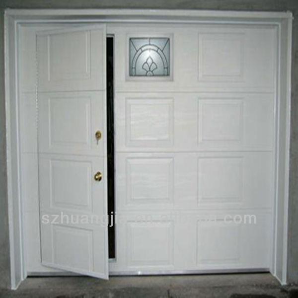 Remote Control Galvanized Steel Pass Through Garage Door