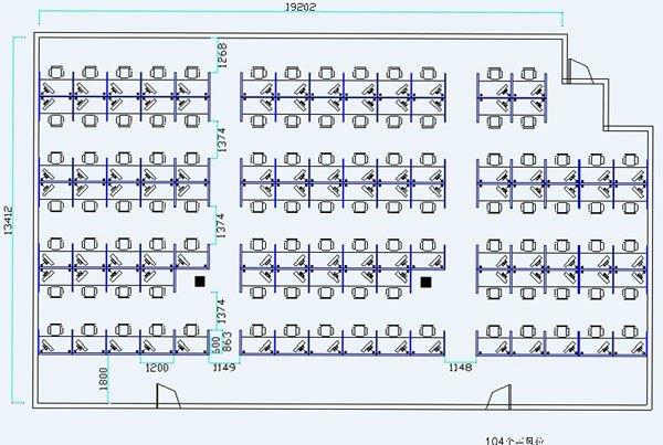 Call Center Custom Design Office Cubicles Workstation