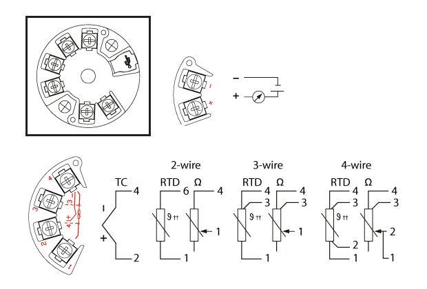 Dct190b : General-purpose Head Type Transmitter (4~20 Ma