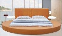 Modern Bedroom Set Furniture Round Bed O6804#