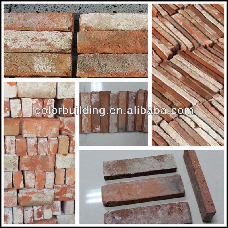 Used Cheap Old Exterior Wall Cladding Exterior Wall Brick