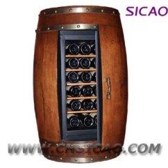 Dispenser Kitchen Bakers Racks For Kitchens Electric Wood Wine Barrel Cooler,wine Furniture Fridge ...