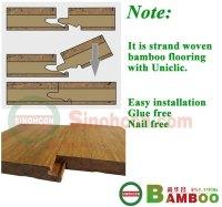 Quietly Brilliant!!!strand woven click lock bamboo