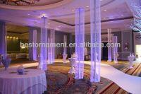 14ft Diamond Crystal Beaded Column Wedding - Buy ...