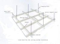 Metal Stud Framing For Drywall Ceiling,Metal Frame For ...