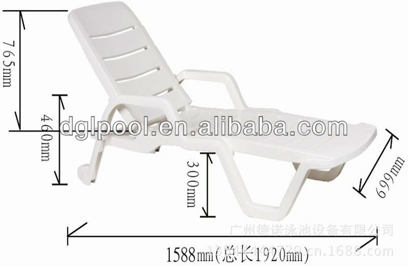 plastic beach chaise lounge chairs papasan ikea swimming pool chair beach dimensions specifications - buy ...