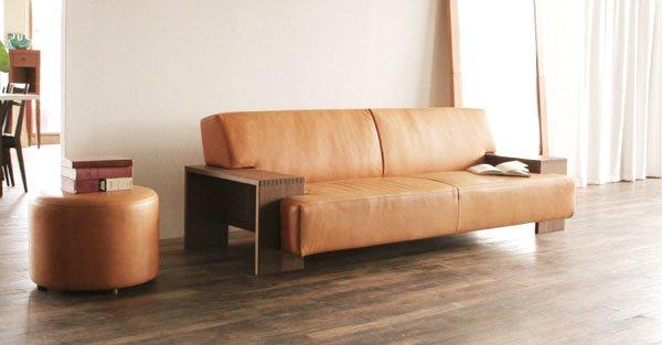 crate and barrel leather sofa bed sleeper sale clearance wood arm buff rakuten global market two ...