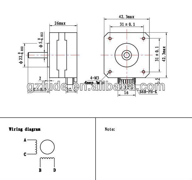 3 Axis Cnc Nema17 Casun Stepper Motor,Nema17 Stepper