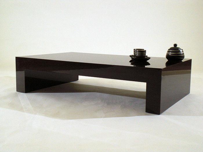 Brillant Brun Table Basse Design Italien