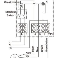 240v Single Phase Motor Wiring Diagram 2002 Ford Xr6 Water Pump Control Box - Buy Box,electrical ...