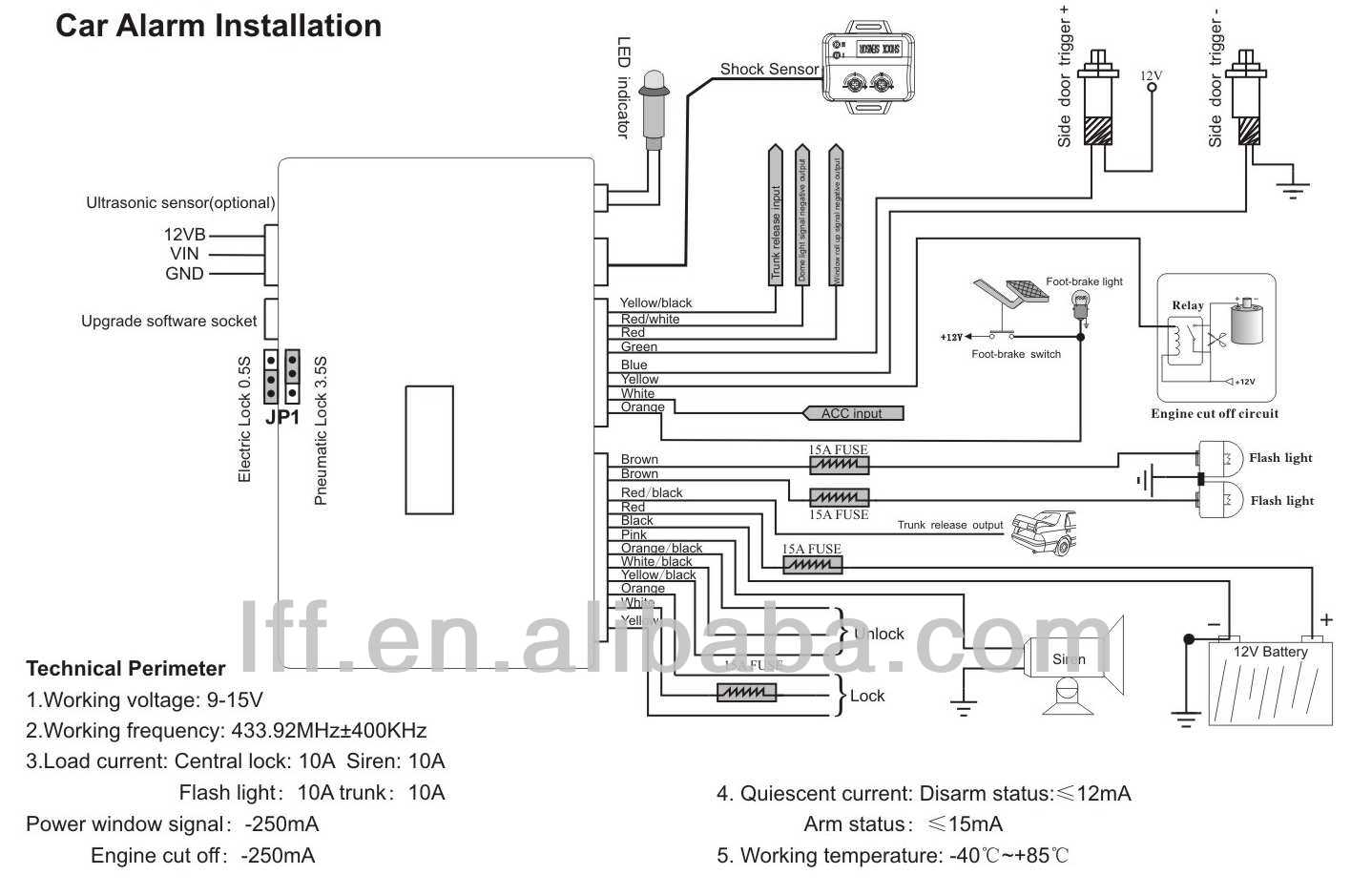 Spy Car Alarm Wiring Diagram : 28 Wiring Diagram Images
