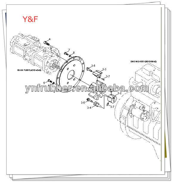 Yn15v00035f1 Kobelco Sk200-8 Excavator Swing Motor Ass'y