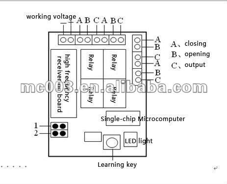 High Sensitivity 433 Mhz Remote Control Switch Rf 12v 4