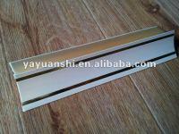 Ceiling Design Pvc Wood Laminate Cornice - Buy Wood ...