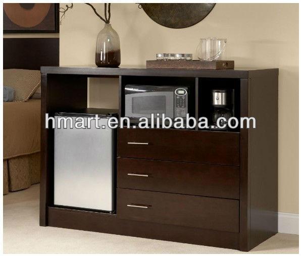 Solid Wood Microwavefridge Cabinet  Buy Microwavefridge