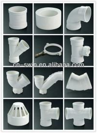 Guangdong Foshan Durable Pvc Fittings/pvc Pipe Fittings