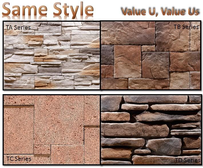 Stone Tiles Outdoor Walls,Exterior Decorative Brick Walls