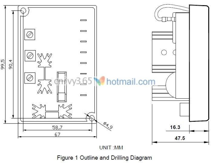 Leroy Somer R438 Voltage Regulator Wiring Diagram Generator Voltage Regulator Avc63 4 Buy Generator