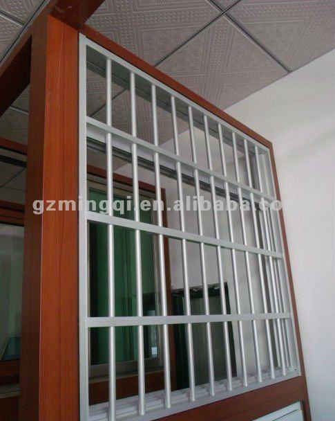 Pvc Sliding Window With Grills ( Anti