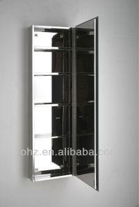 Tall And Thin Bathroom Mirror Cabinet 7057 - Buy Mirror ...