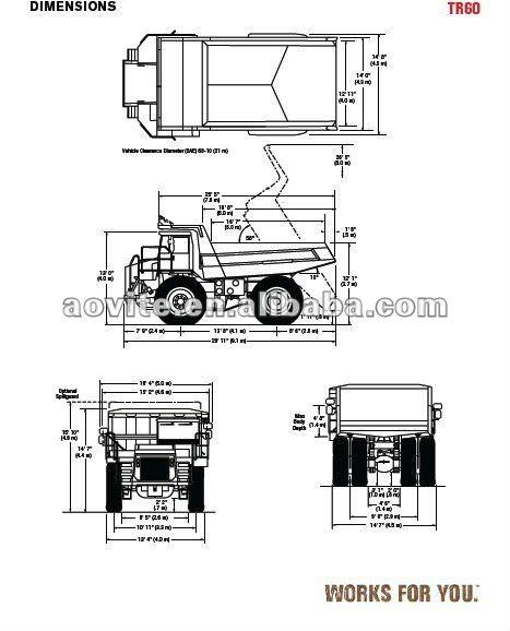 Terex tr60 dump truck, View Terex tr60 dump truck, TEREX
