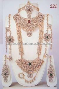 indian bridal jewelry sets wedding