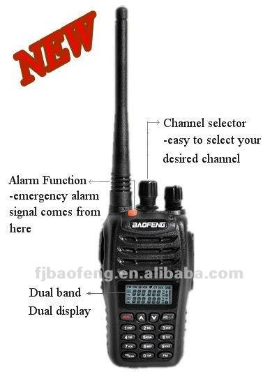 Baofeng Uv-b5 New 2 Meter Cheap Handheld Dual Band Ham