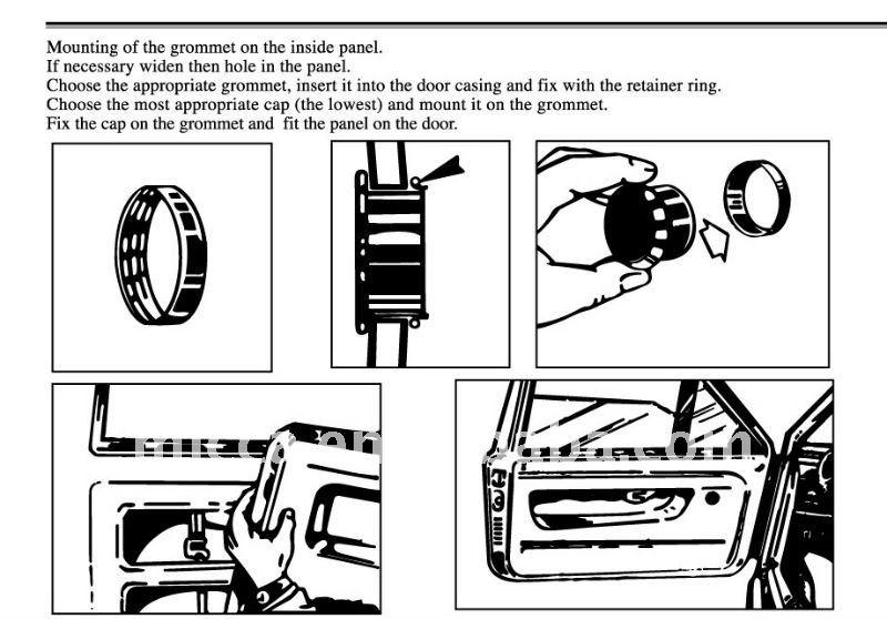 PW802 Spal Universal Deluxe Electric Power Car/Van/Vehicle
