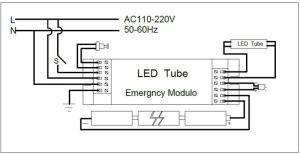 Led Emergency Exit Sign Backup Power Pack For Led Lighting