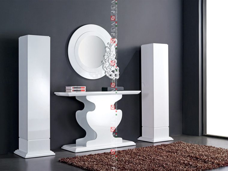 Indian Console Tables / Modern Console Table And Mirror