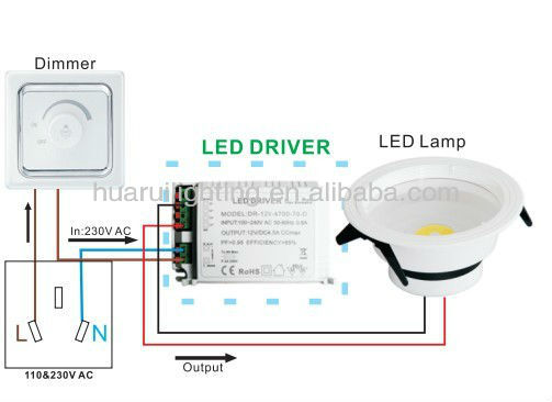 dali led driver wiring diagram dayton time delay relay etl approved triac dimmable driver,12v 4a,input 110-120v,5%-100% dimming range,compatible ...