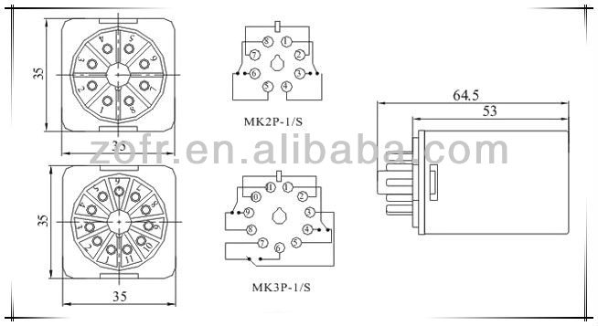 Omron Relay My4n Wiring Diagram