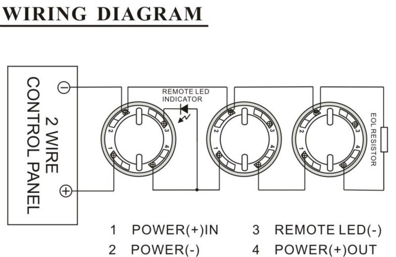 2 Wire Smoke Detector Wiring Diagram : 36 Wiring Diagram