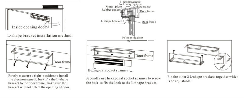 Magnetic Door Lock Wiring Diagram Complete Single Door Magnetic