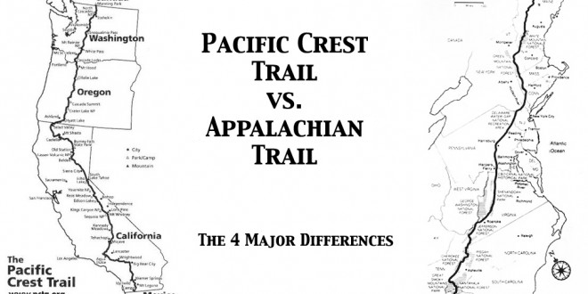 The 4 Major Differences Between the AT and the PCT