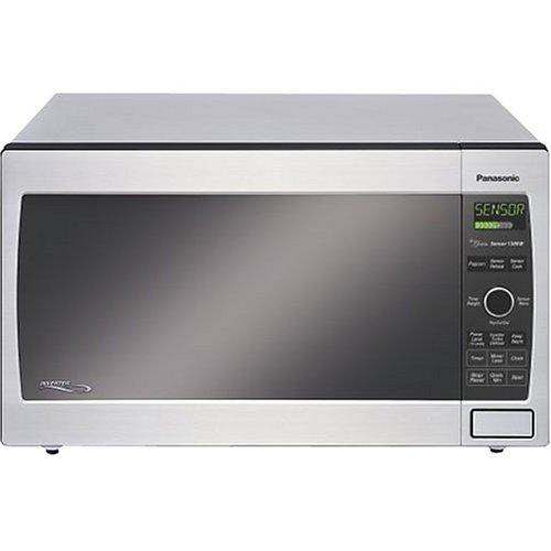panasonic nn t695sf family size 1 2 cubic foot 1 300 watt microwave oven stainless uchinason