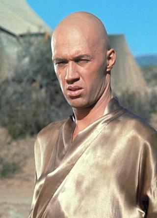 David Carradine in the TV series Kung Fu.