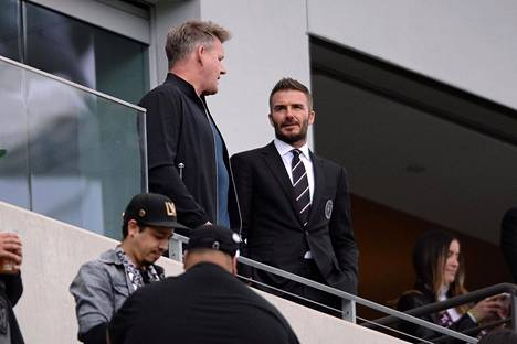 The families of Gordon Ramsay and David Beckham are close, but Ramsay does not allow his daughters to get too close with Beckham's sons.