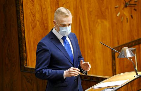 Coalition MP Timo Heinonen.