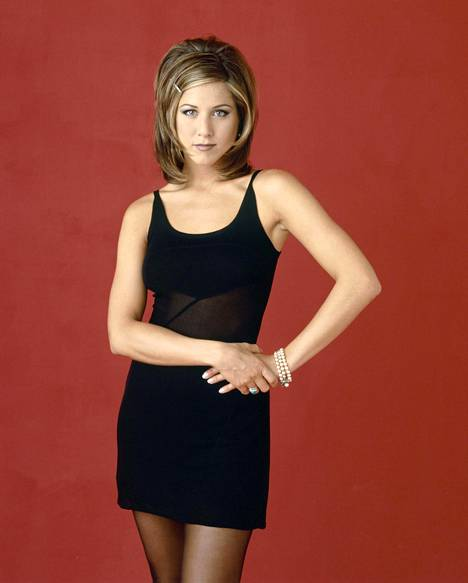 This is what Jennifer Aniston looked like in 1994 at the time of filming for the Friends series.