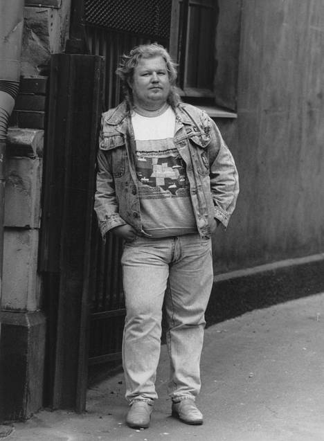 Jope Ruonansuu began his career in the early 80's. Picture from 1988.