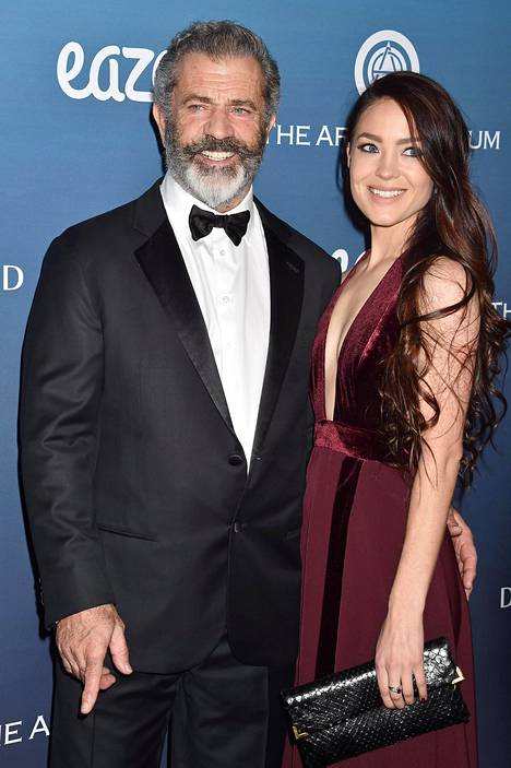 Mel Gibson and girlfriend Rosalind Ross photographed in 2019.