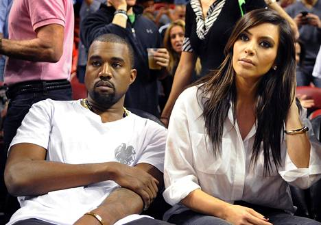 Kanye West and Kim Kardashian met in the early 2000s.