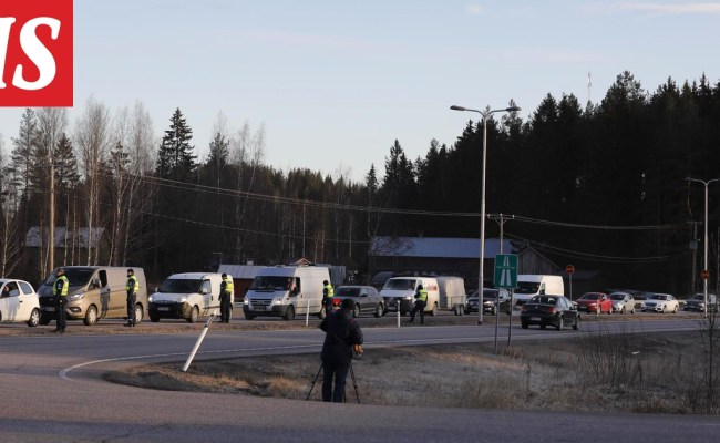 Police Clear Message Too Much Traffic On The Uusimaa