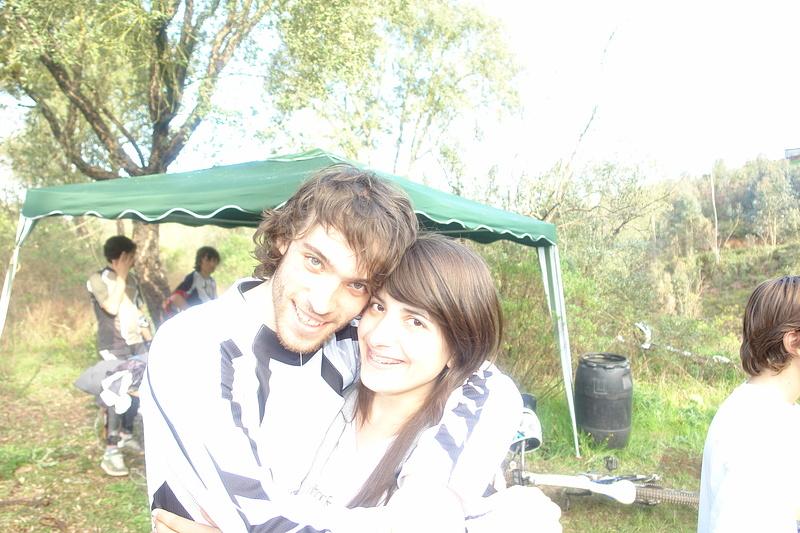 Eu e a minha namorada Tina