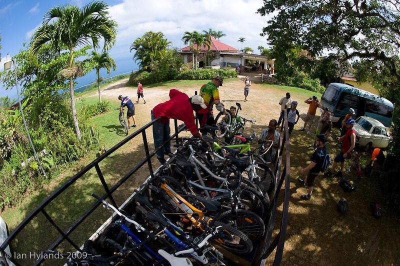 Mountain bike in jamaika servizio shuttle