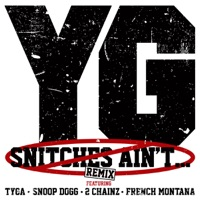 Snitches Ain't... (Remix) [feat. Tyga, Snoop Dogg, 2 Chainz & French Montana] - Single - YG mp3 download