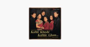 Kabhi Khushi Kabhie Gham - Jatin - Lalit & Lata Mangeshkar