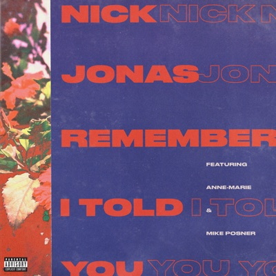 Remember I Told You - Nick Jonas Feat. Anne-Marie & Mike Posner mp3 download