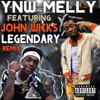 Legendary (Remix) [feat. John Wicks] - Single - YNW Melly mp3 download